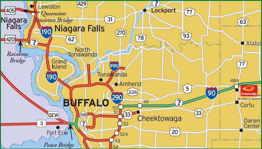 Words Er Less SHOPPING ACROSS THE BORDER - Where is buffalo