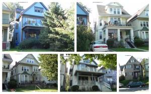 Defendants' Houses