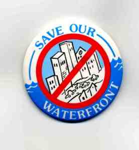 Millie Harrington's Save Our Waterfront