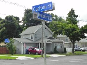 183 Mulberry - SE corner Carlton