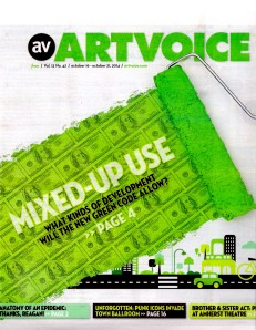 ArtVoice cover 10-16-14 Mixed-Up Use