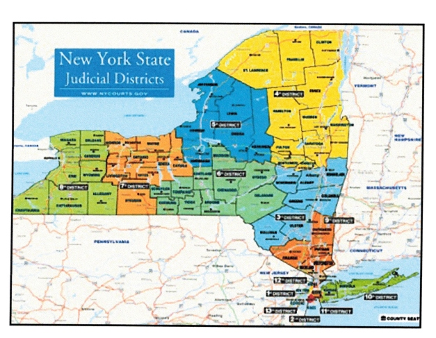 Map Of New York Judicial Districts.Ny S System Of Selecting Judges Isn T The Only Obstacle To Assuring