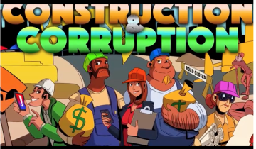 Constructiin and Corruption logo