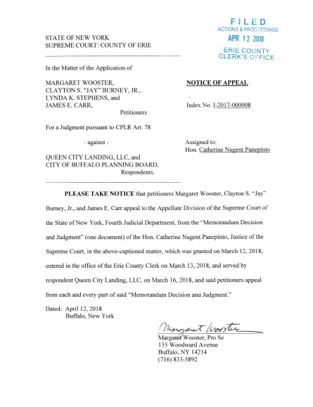 Notice of Appeal p1