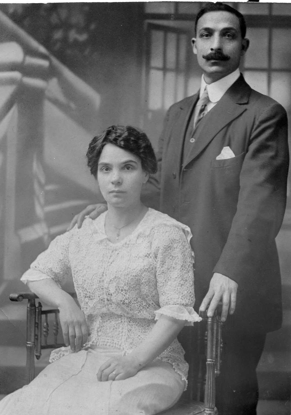 1 - Arthur P. Giacalone's Mother & Father