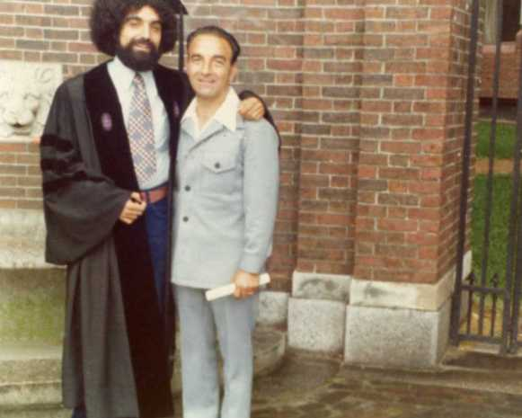 67 - Art & Arthur at HLS Graduation 1975