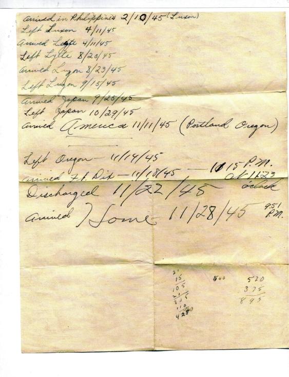 APG's WWII log p.2