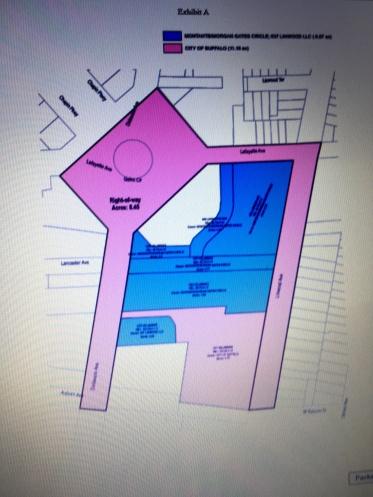 Linwood Lafayette UDAA map