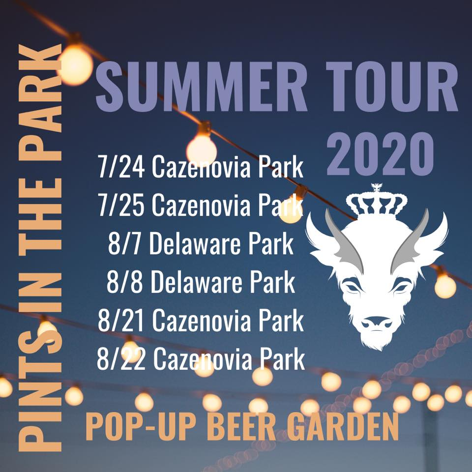 Pints-in-the-Park Summer Tour 2020