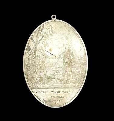Red Jacket medal - front sni